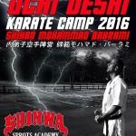 UCHI DESHI KARATE CAMP2016 MOHAMMAD BAHARAMI Dt